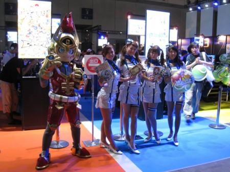 【TGS2013レポート】会場内で見かけた着ぐるみ&コンパニオンさん(その他いろいろ)写真集9