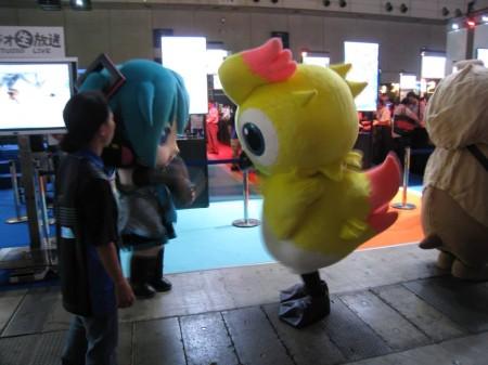 【TGS2013レポート】会場内で見かけた着ぐるみ&コンパニオンさん(その他いろいろ)写真集6