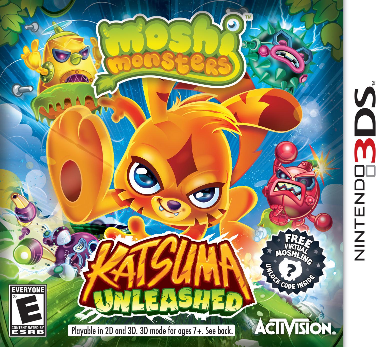 イギリスの子供向け仮想空間「Moshi Monsters」、10/11に3作目のコンシューマー向けソフト「Moshi Monsters: Katsuma Unleashed」をリリース