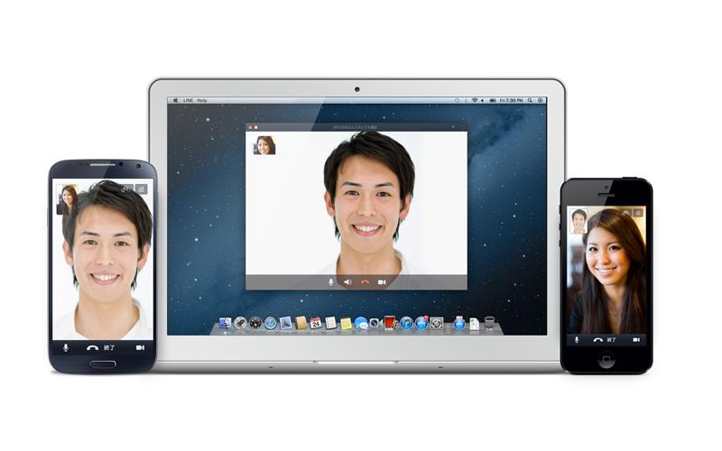 LINE、ビデオ通話機能を世界同時公開 iOS版では動画の撮影・共有機能「Snap Movie」も先行公開1