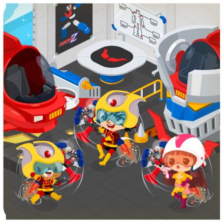 LINEの仮想空間「LINE Play」にロボットアニメの名作「マジンガーZ」が登場!3