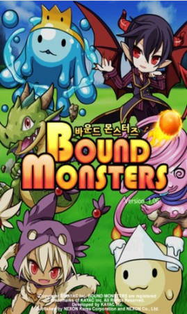 カヤックののスマホ向けバウンド対戦RPG「バウンドモンスターズ」が韓国に進出!1