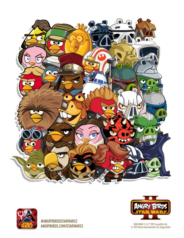 史上最多の30キャラが登場! Rovio、スター・ウォーズ版Angry Birds「Angry Birds Star Wars II」をリリース