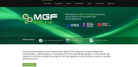 来年1/22〜23、英ロンドンにてモバイルソーシャルゲームのカンファレンスイベント「Mobile Games Forum 2014」開催