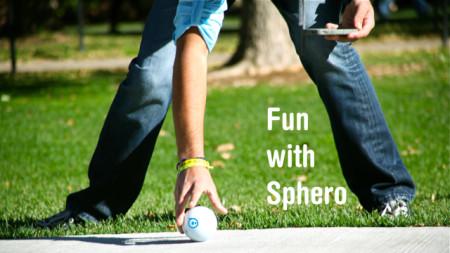 スマホやタブレットで操作できるボール型ラジコン「Sphero Robotic Ball」、日本でも販売開始2