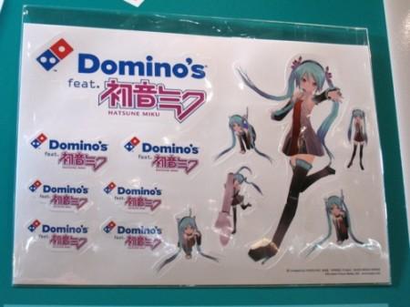 【TGS2013レポート】東京ゲームショウのフードコーナーで初音ミクのステッカーをGET!6