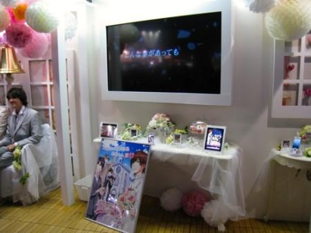 【TGS2013レポート】イケメンと一緒に記念撮影も可能! 女子力が高過ぎるボルテージブース6