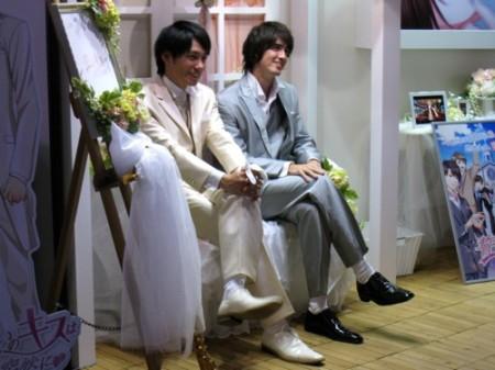 【TGS2013レポート】イケメンと一緒に記念撮影も可能! 女子力が高過ぎるボルテージブース13