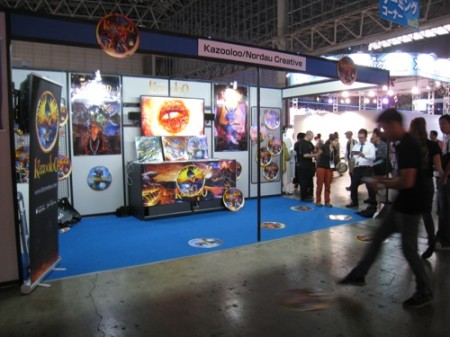 【TGS2013レポート】ARマーカーごとにストーリーが展開するイスラエ発のスマホ向けARゲーム「Kazooloo」1