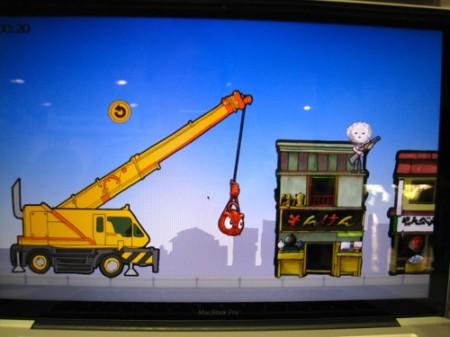 【TGS2013レポート】クラウドファンディングで制作資金を調達したインディーズゲーム「モンケン」がプレイアブル出展中3