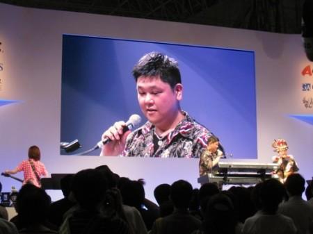 【TGS2013レポート】伊藤賢治氏がスペシャルライブで「パズドラZ」の新曲をいち早く披露5