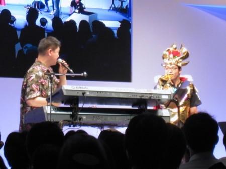 【TGS2013レポート】伊藤賢治氏がスペシャルライブで「パズドラZ」の新曲をいち早く披露7