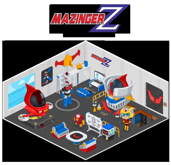 LINEの仮想空間「LINE Play」にロボットアニメの名作「マジンガーZ」が登場!1