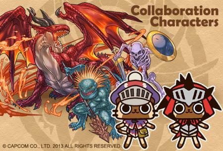 「パズル&ドラゴンズ」「ドラゴンズドグマ クエスト」「モンハン商店 アイルーでバザール」の夢のコラボが決定!2