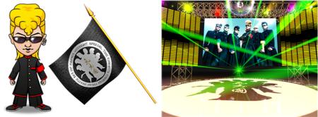 Donuts、ソーシャルゲーム「暴走列伝 単車の虎」にてロックバンド「氣志團」がコラボを実施2