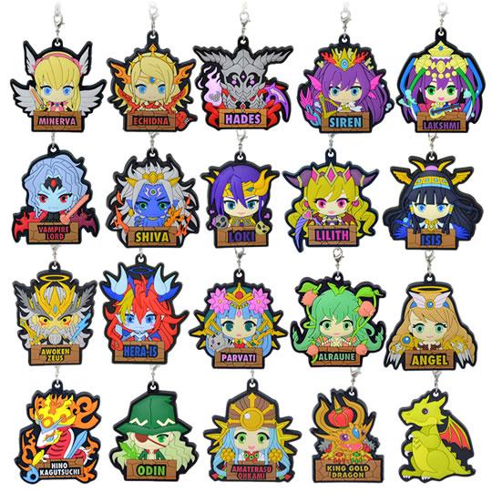 ラナ、「パズル&ドラゴンズ」のラバーストラップ20種類を発売1