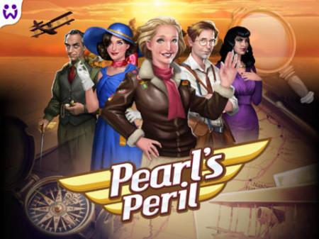 ドイツのWooga、Facebookで人気のソーシャルゲーム「Pearl's Peril」をiPad向けに展開1
