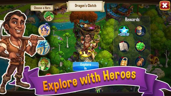 Zynga、PC向けソーシャルゲーム「CastleVille」のスマホ版「CastleVille Legends」をリリース1
