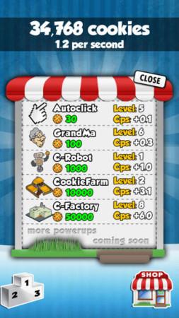 クッキー廃人に朗報 クッキー量産ブラウザゲーム「Cookie Clicker」のiOSアプリ版が登場3
