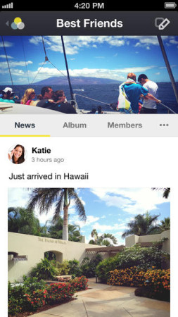 カカオトーク、仲の良い友達同士でグループを作れる新アプリ「KakaoGroup」をリリース2