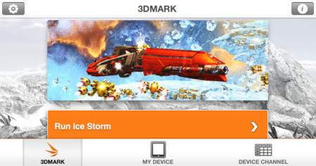Futuremark、iOS向けベンチマークアプリ「3DMark」をリリース1