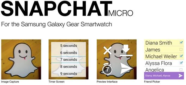 写真がすぐ消えるスマホ向け写真共有&メッセージングアプリ「Snapchat」、サムスンのスマートウォッチ「Galaxy Gear」に搭載決定