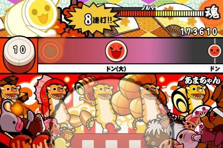 じぇじぇじぇ! iOS向けリズムゲーム「太鼓の達人プラス」にドラマ「あまちゃん」のオープニングテーマが登場1
