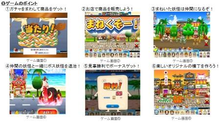 フジテレビジョン、Yahoo! Mobageにて「ゲゲゲの鬼太郎」の経営シミュレーションゲーム「ゲゲゲの鬼太郎 妖怪横丁」を提供開始3