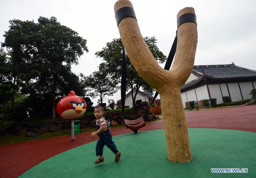 中国にてAngry Birdsの公式テーマパークがオープン
