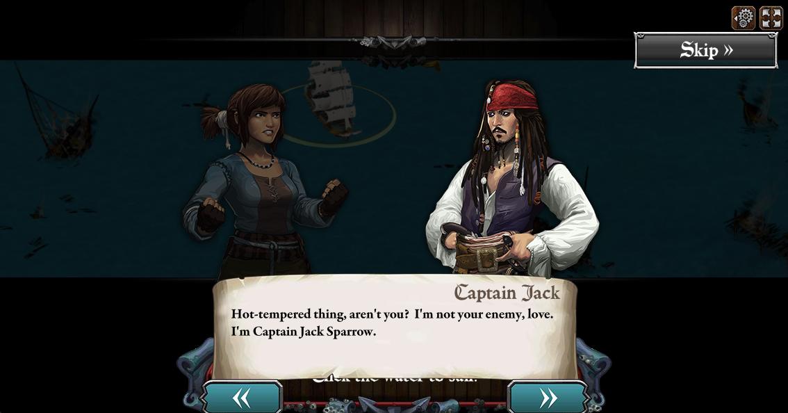 ディズニー、Facebookにて映画「パイレーツ・オブ・カリビアン」シリーズの公式ソーシャルゲーム「Pirates of the Caribbean: Isles of War」を提供開始1