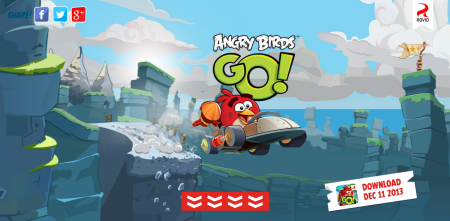Angry Birdsシリーズ最新作「Angry Birds Go!」、12/11リリース決定 リアル玩具との連動もあり
