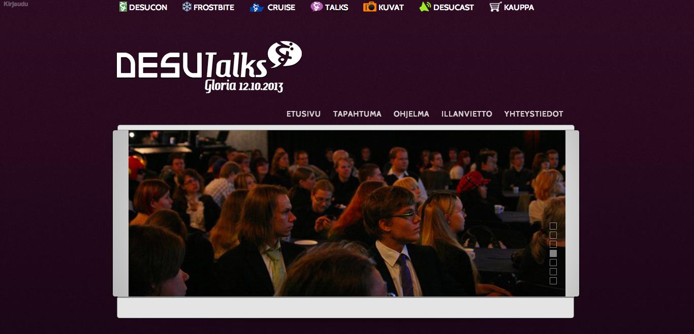 12/10、フィンランドにて日本のコンテンツに関するカンファレンスイベント「DESU Talk Gloria」開催