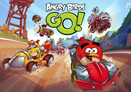 Angry Birdsシリーズ最新作「Angry Birds Go!」、12/11リリース決定 リアル玩具との連動もあり1