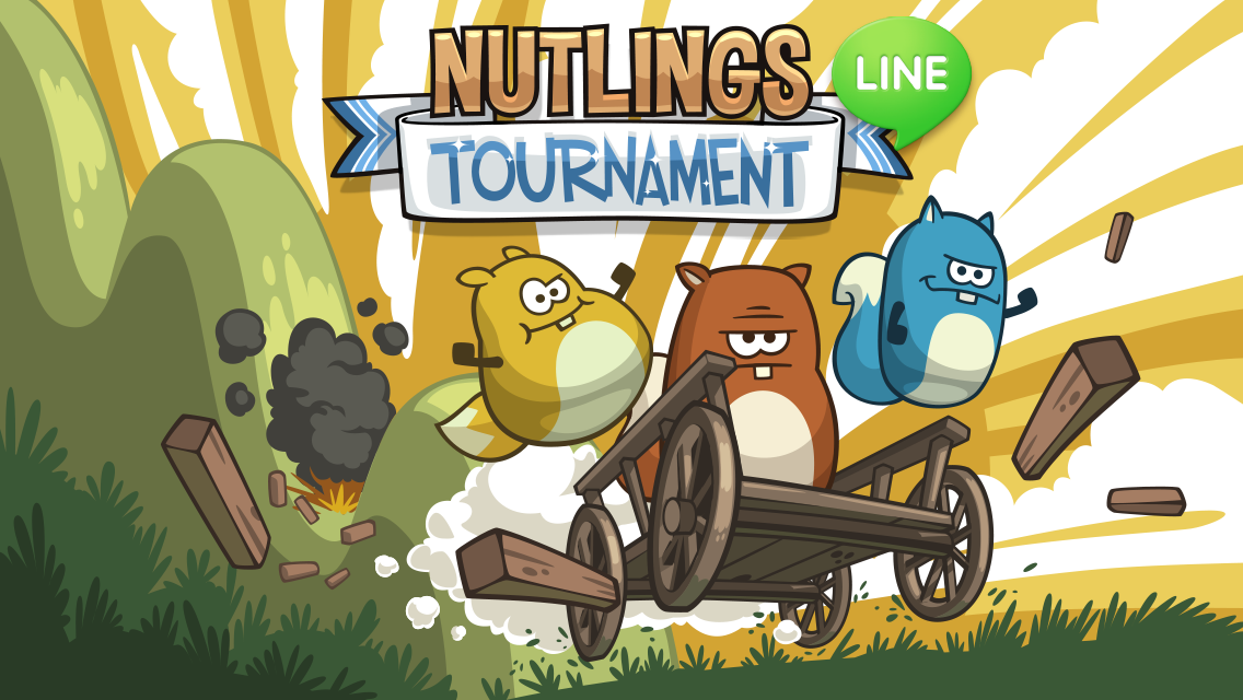 フィンランドからまた新たなスマホゲームが上陸! LINE GAMEにて「LINE ドングリっス」提供開始1