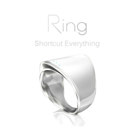 ログバー、全てを指一本で操作できる指輪型ウェアラブルデバイス「Ring (リング)」を発表