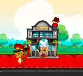 3rdKind、スマホ向けシミュレーションゲーム「ハッピーストリート」にて「秘密結社 鷹の爪」とコラボ3