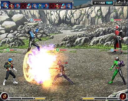 Yahoo! Japanとバンダイナムコオンライン、Yahoo!ゲームにて仮面ライダーシリーズ初のPC向けゲーム「仮面ライダー バトオンライン」のオープンβテストを開始1