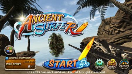 SummerTimeStudioのスマホ向けサーフィンゲーム「Ancient Surfer」、リリースから1ヶ月弱で100万ダウンロードを突破1