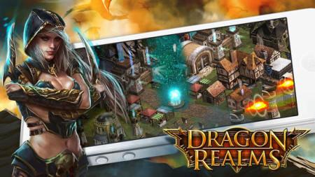 GREE International、新作内製タイトルとしてファンタジーRPG「Dragon Realms」をリリース2
