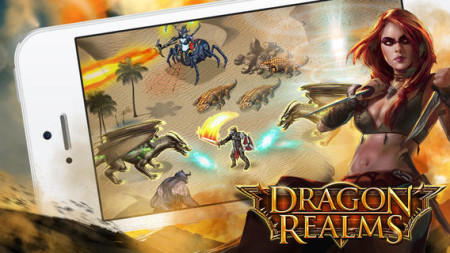 GREE International、新作内製タイトルとしてファンタジーRPG「Dragon Realms」をリリース3