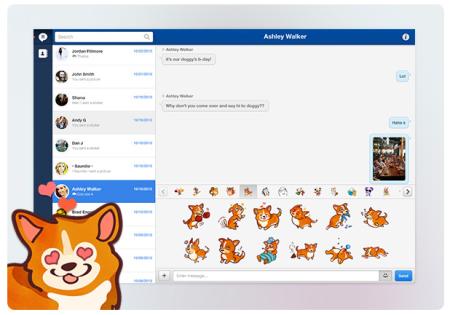 アメリカ発のスマホ向けメッセージングアプリ「MessageMe」、PC版を提供開始