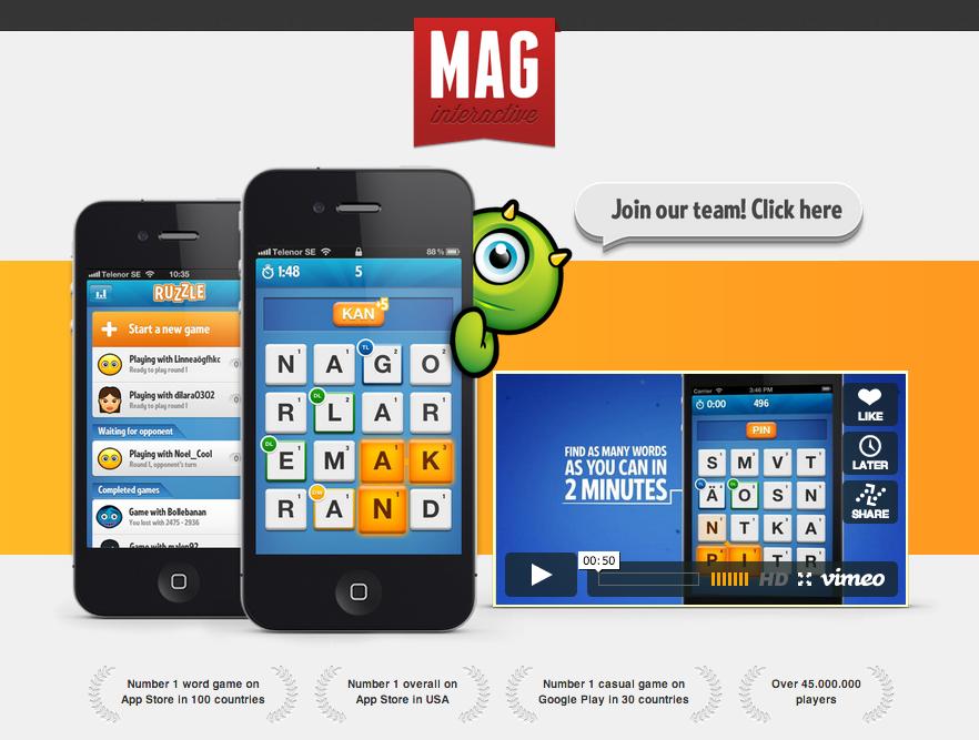 スウェーデンのモバイルゲームディベロッパーのMAG Interactive、600万ドル資金調達