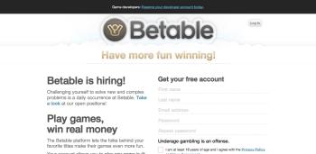 オンラインギャンブルプラットフォームのBetable、1850万ドル資金調達