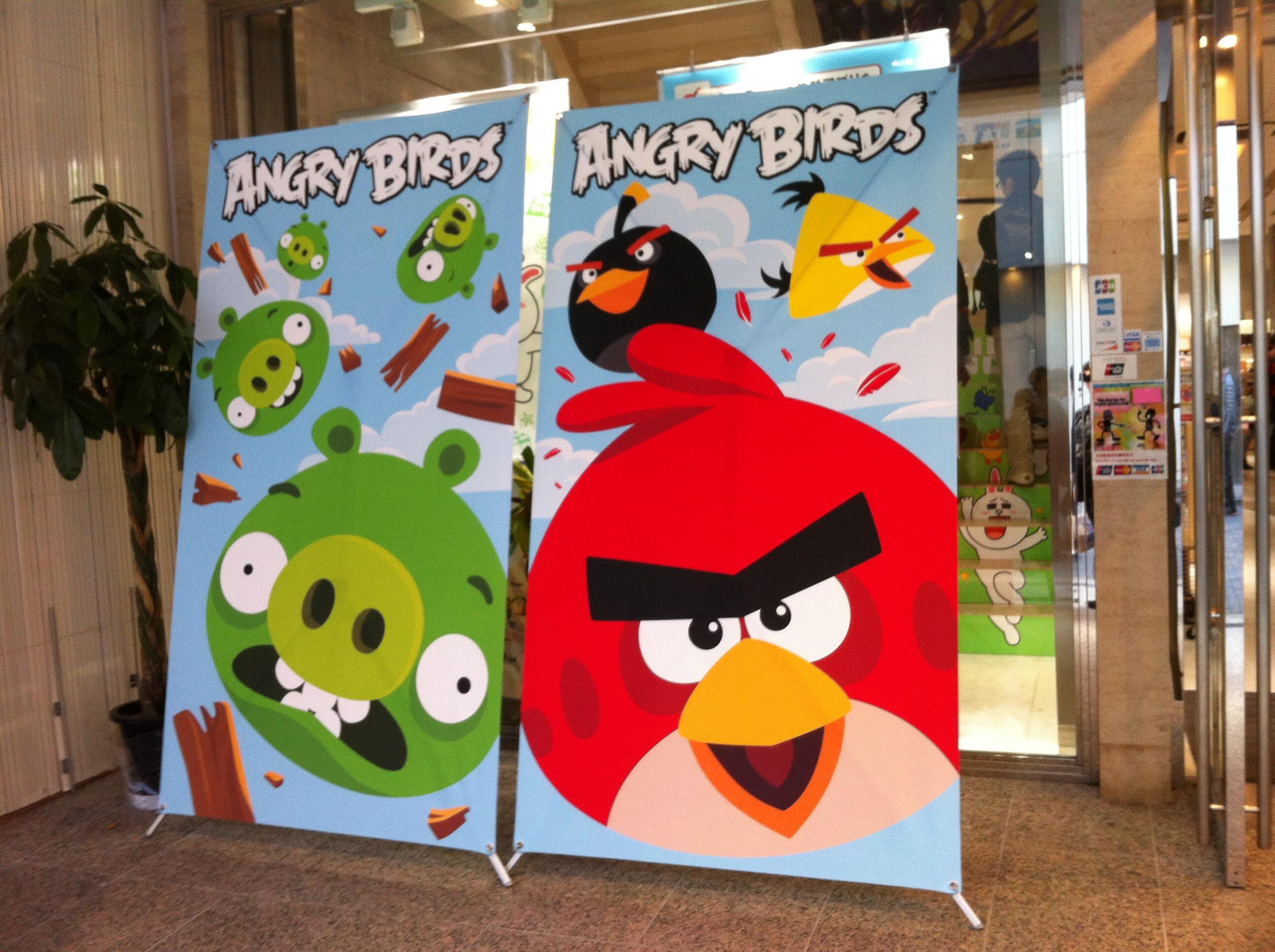 【レポート】Angry Birdsのお絵描きイベント1日目を見てきた1