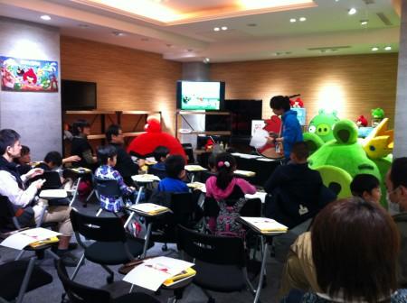 【レポート】Angry Birdsのお絵描きイベント1日目を見てきた2