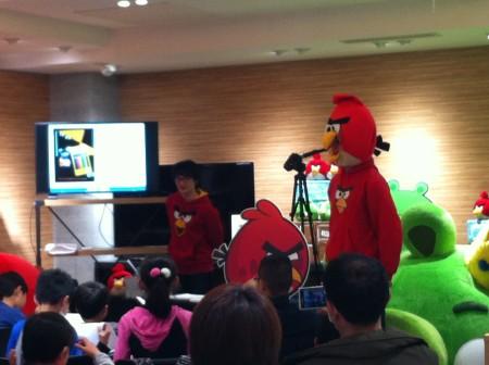 【レポート】Angry Birdsのお絵描きイベント1日目を見てきた3