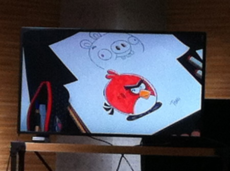 【レポート】Angry Birdsのお絵描きイベント1日目を見てきた12