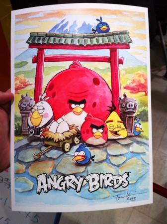 【レポート】Angry Birdsのお絵描きイベント1日目を見てきた
