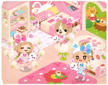 LINE、スマホ向け仮想空間「LINE Play」に白うさぎの「モフィ」が登場!3