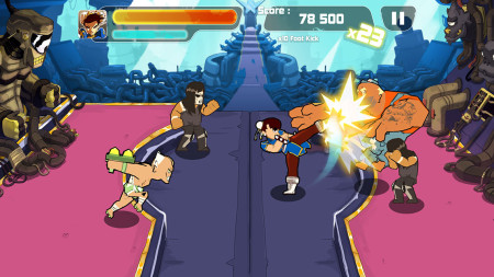 フランス発のスマホ向け格闘ゲーム「Combo Crew」にストリートファイターのキャラクターが参戦3